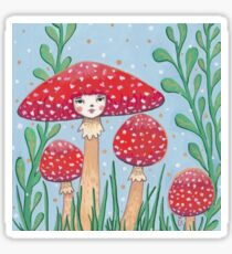 Uncommon Variety - Red Mushroom Sticker