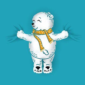 Abrazo del oso polar de kellabell9