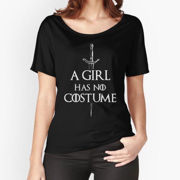 Une fille n'a pas de costume T-shirt coupe relax