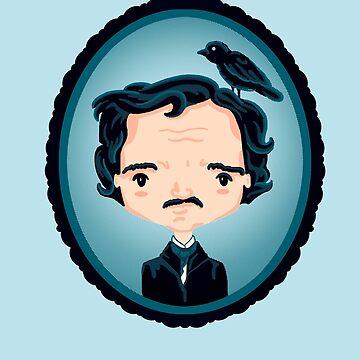 Poe y Cuervo de kellabell9