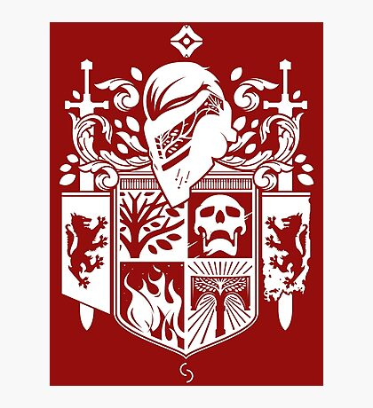 Iron Coat of Arms - NM Edition Photographic Print