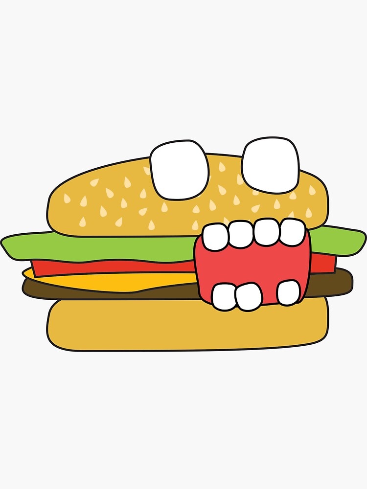 zombie cheeseburger by shortstack