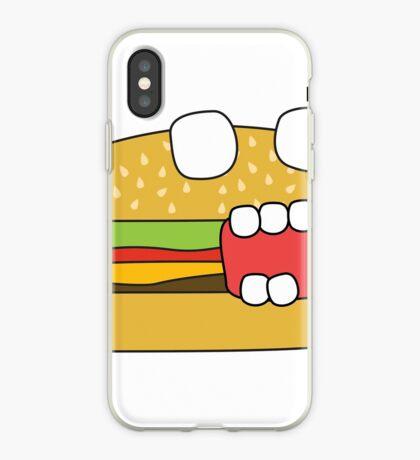 zombie cheeseburger iPhone Case