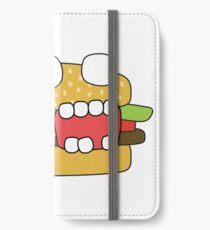 zombie cheeseburger iPhone Wallet/Case/Skin