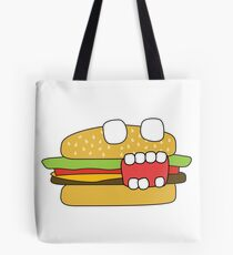 zombie cheeseburger Tote Bag