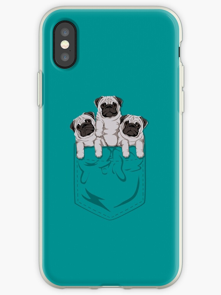 «Pocket Pug» de kellabell9