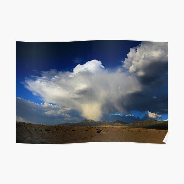 Thunderhead over Becky Peak - Nevada Poster
