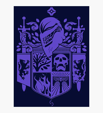 Iron Coat of Arms - FWC Edition Photographic Print