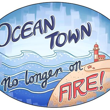 Welcome to Ocean Town! by iKiska