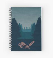 Very Strange Indeed Spiral Notebook