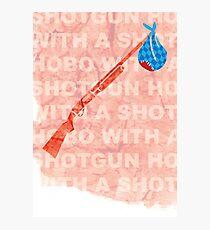 """Hobo With A Shotgun"" Photographic Print"