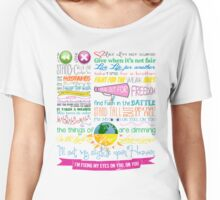 Fix My Eyes Lyrics - For King & Country Women's Relaxed Fit T-Shirt