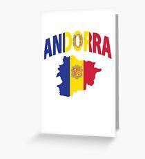 Andorra flag Greeting Card