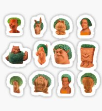 Chia Pet Package  Sticker