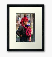 Mum & Baby. Framed Print