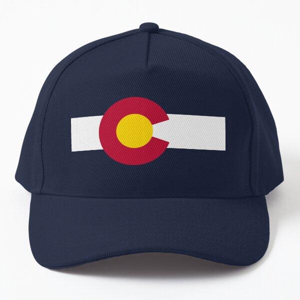 Basic traditional Colorado state flag Baseball Cap