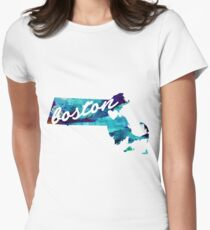 Boston Women's Fitted T-Shirt