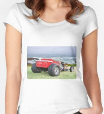 1927 Ford T Bucket Roadster Pickup Women's Fitted Scoop T-Shirt
