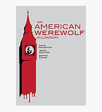 """An American Werewolf In London"" Photographic Print"