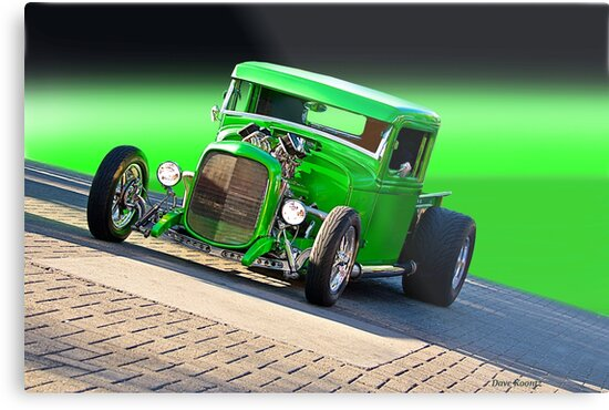 1934 Ford 'The Green Mile' Pickup by DaveKoontz