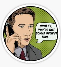 Pop Mulder Sticker