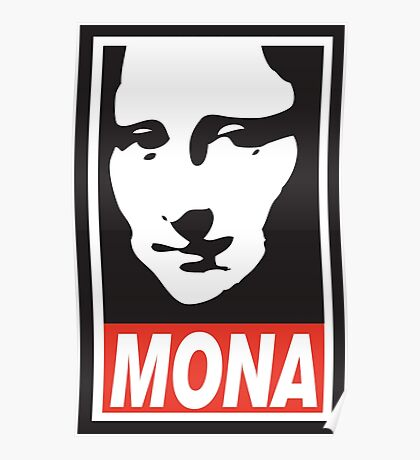 OBEY Mona Poster