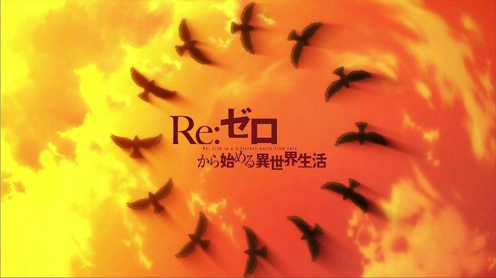 Re Zero Circling Birds by BrehnDehn