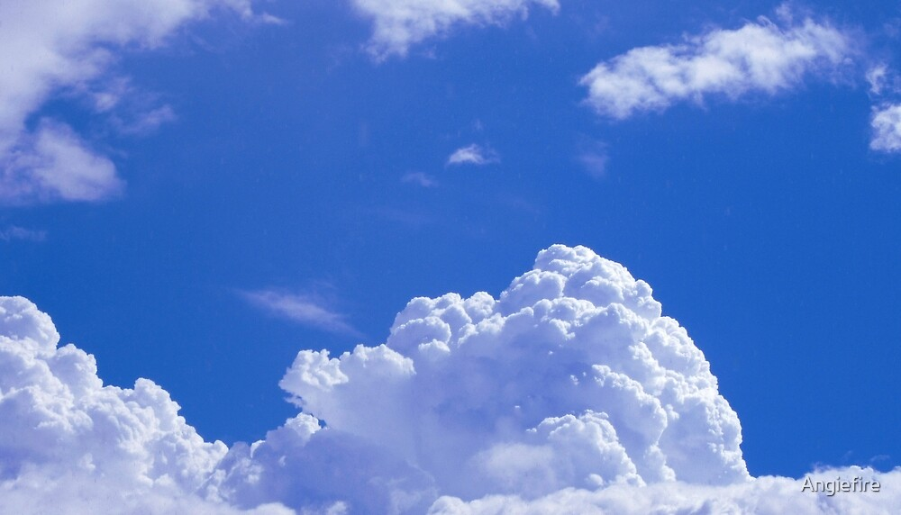 Fluffy Canadian clouds by Angiefire