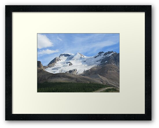 Canadian Glacier by Angiefire