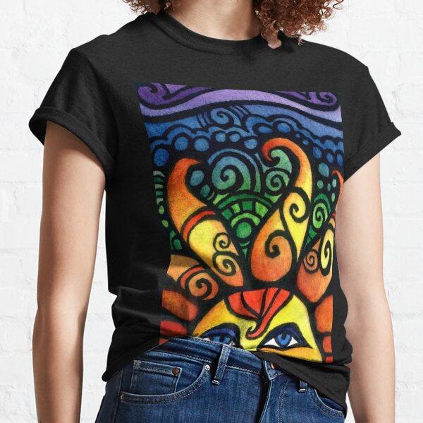 Colorful Rising Summer Sun Classic T-Shirt