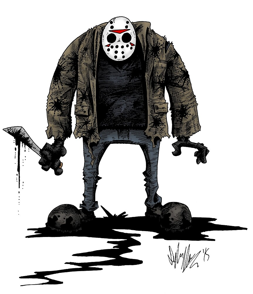 Jason Vorhees by Dylan Moore