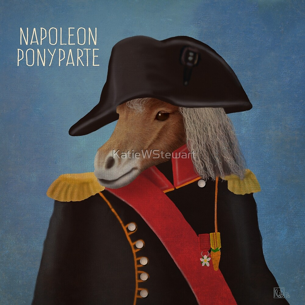 Napoleon Ponyparte by KatieWStewart