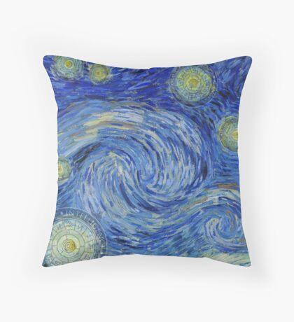 Cosmic stars - CIAstrology - Yin Yang Throw Pillow