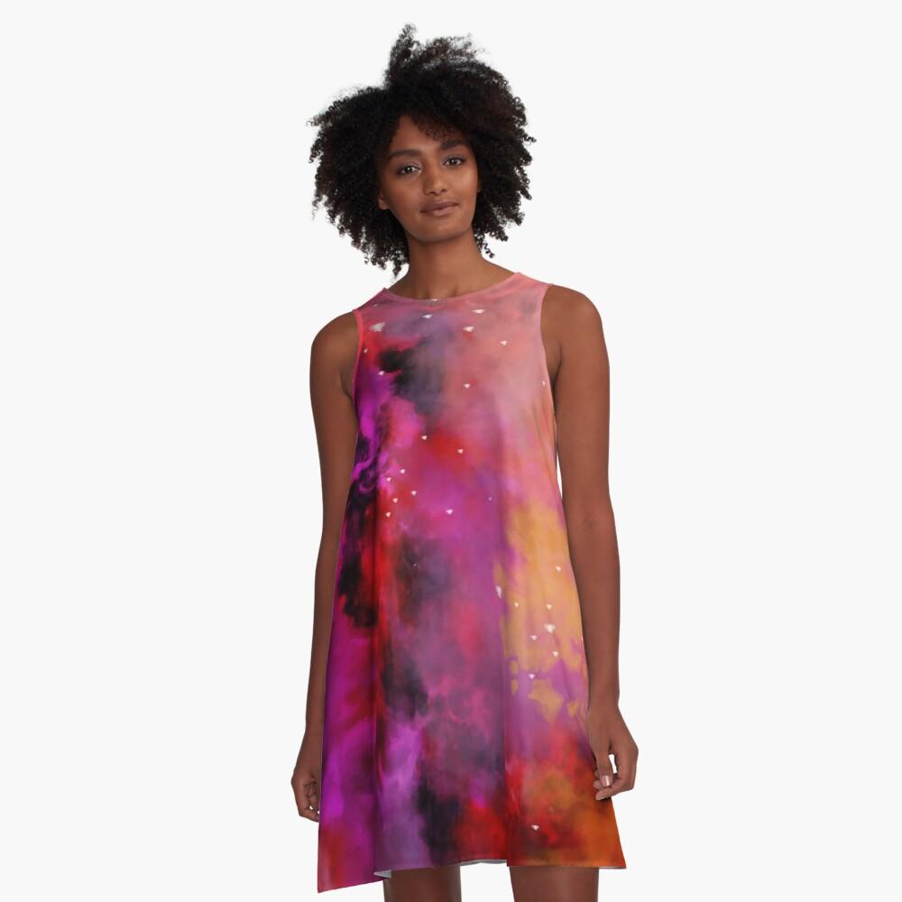 Fire - Leo A-Line Dress