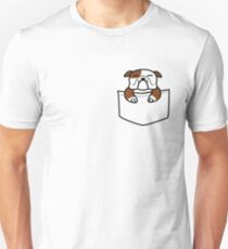 Pocket Bulldog Unisex T-Shirt