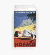 1935 Monaco Grand Prix Race Poster Duvet Cover