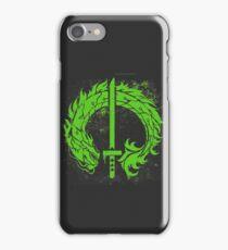 Genji Green Dragon Tag iPhone Case/Skin
