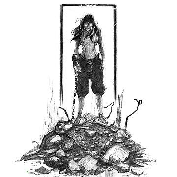 evil Korra by hasanabbas
