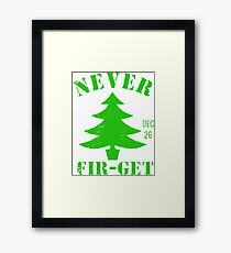 Day After Christmas Framed Print