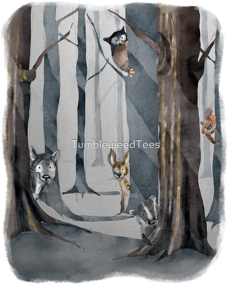 Woodland Creatures by TumbleweedTees