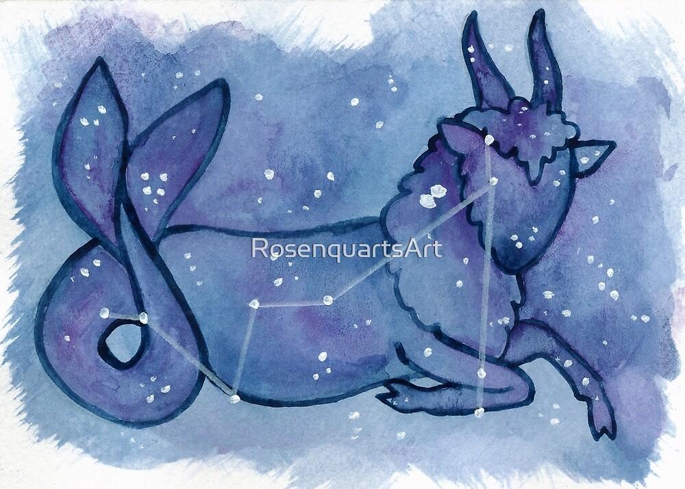 Capricorn by RosenquartsArt