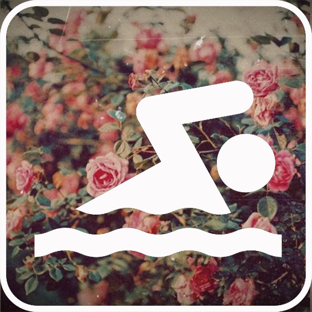 swimmer flowers by Midnight Swim
