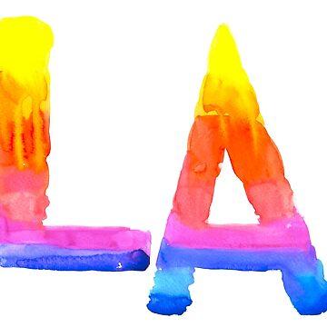 LA by anastasiadueva