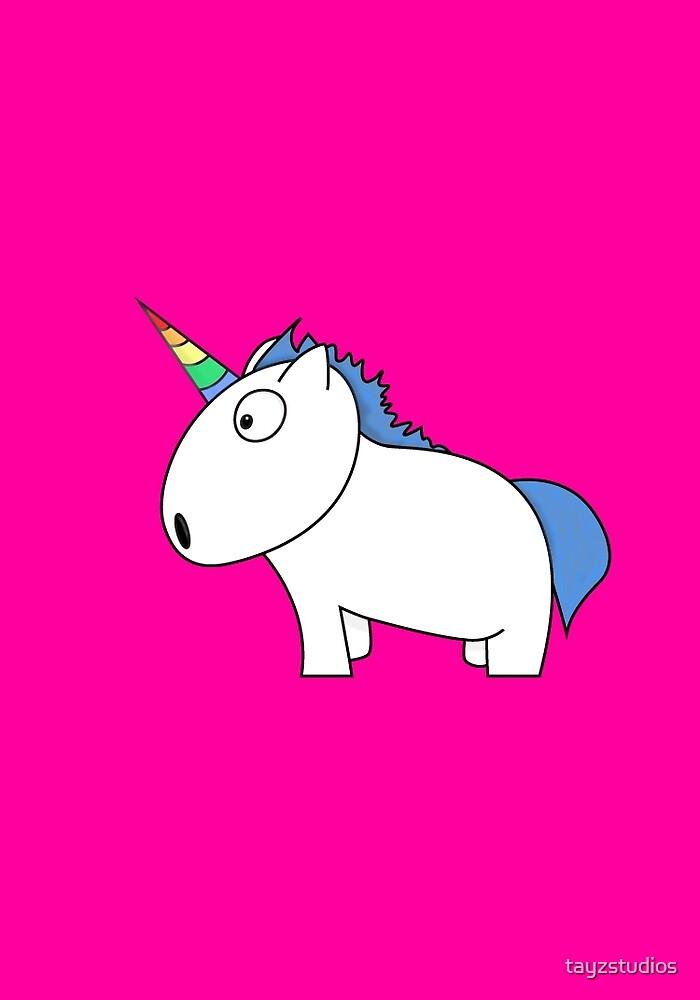 Rainbow Unicorns by tayzstudios