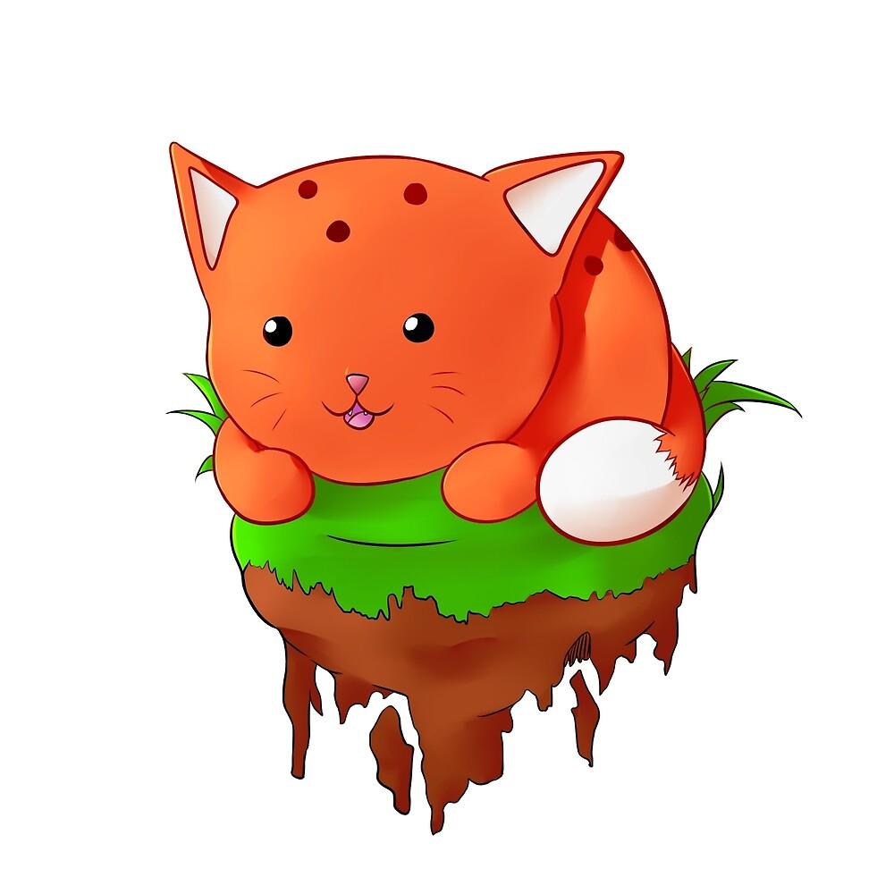 cartoon cat by jpcampb