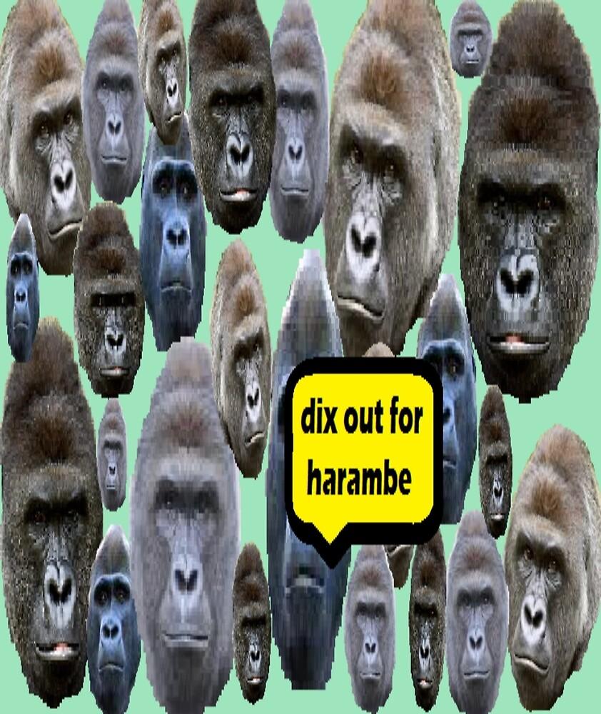 Harambe meme collage by bekachurs