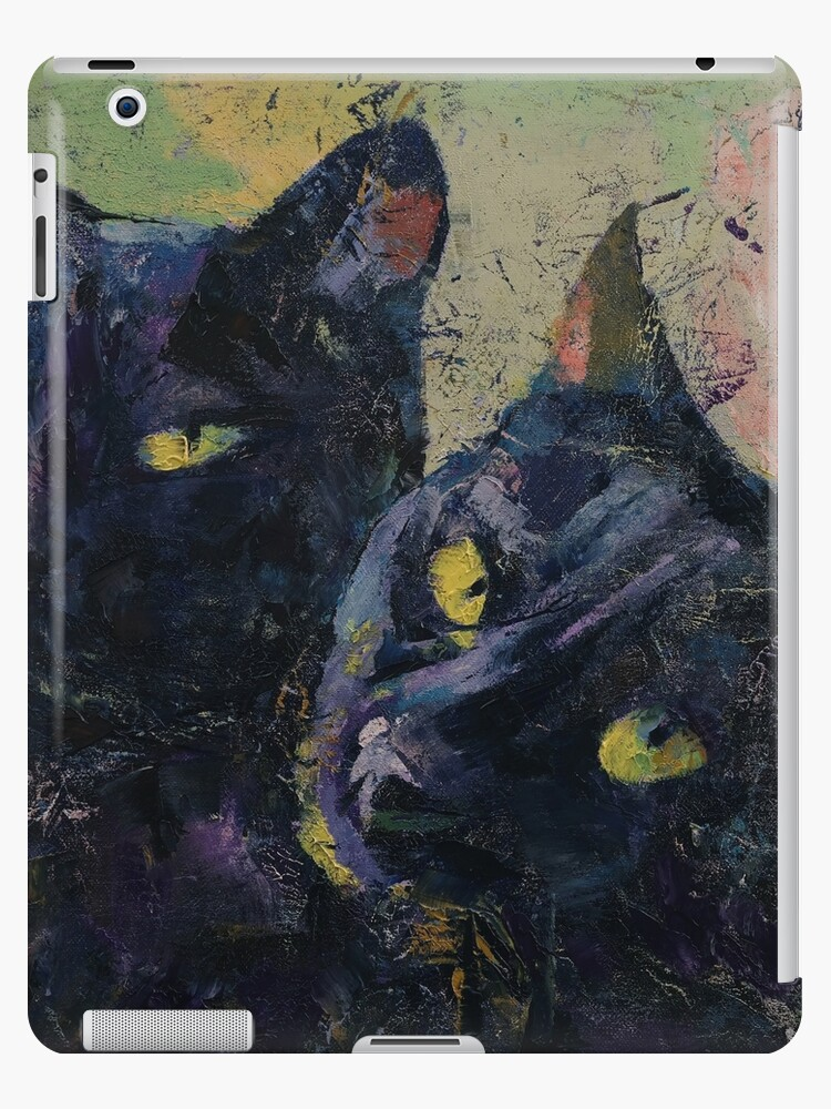 Black Cats by Michael Creese