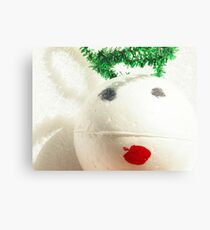 Contemporary Christmas - Little Angel Canvas Print