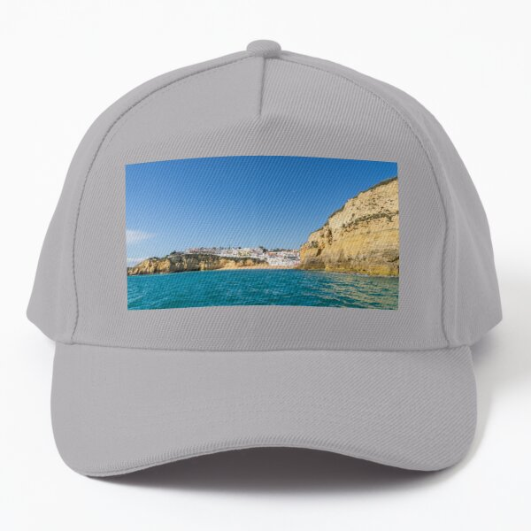 Boating off the Coast of Carvoeiro - Because You Need a Vacation in the Sun Baseball Cap