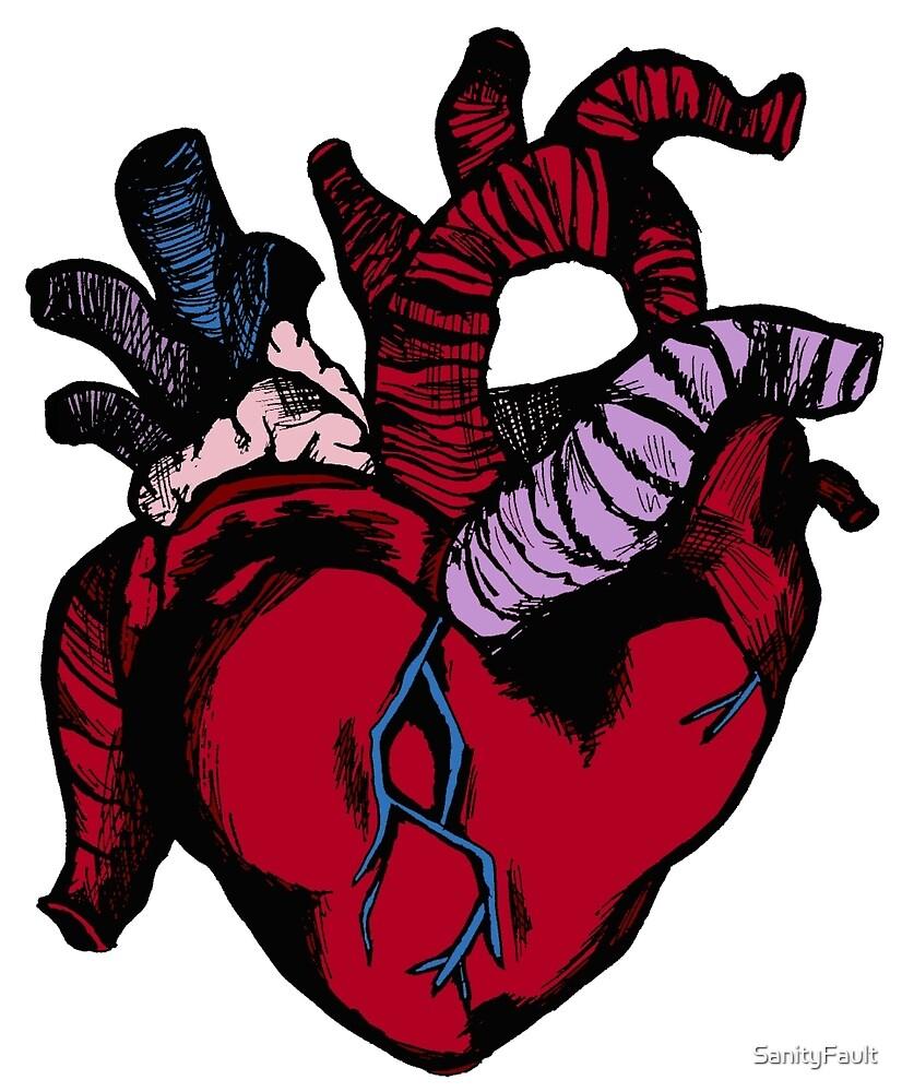 Human Heart by SanityFault